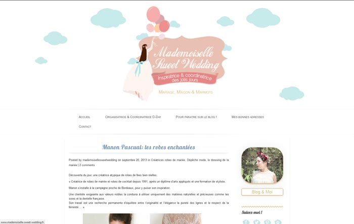http://www.mademoiselle-sweet-wedding.fr/manon-pascual-les-robes-enchantees/